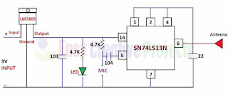 homemade fm transmitter circuit diagram