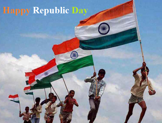 Republic Day Best WhatsApp, Facebook status, Greetings, Cards