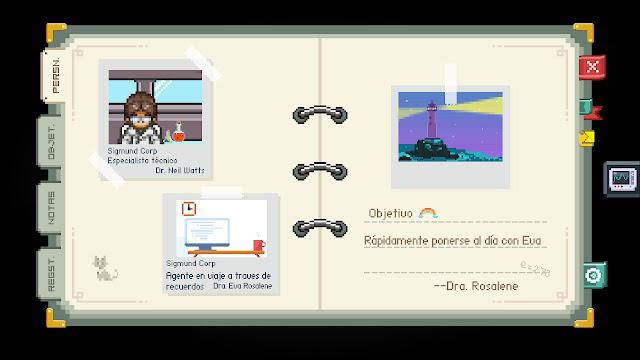 Análisis de To The Moon para Nintendo Switch