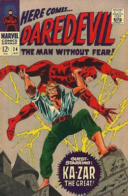 Daredevil #24, Ka-Zar