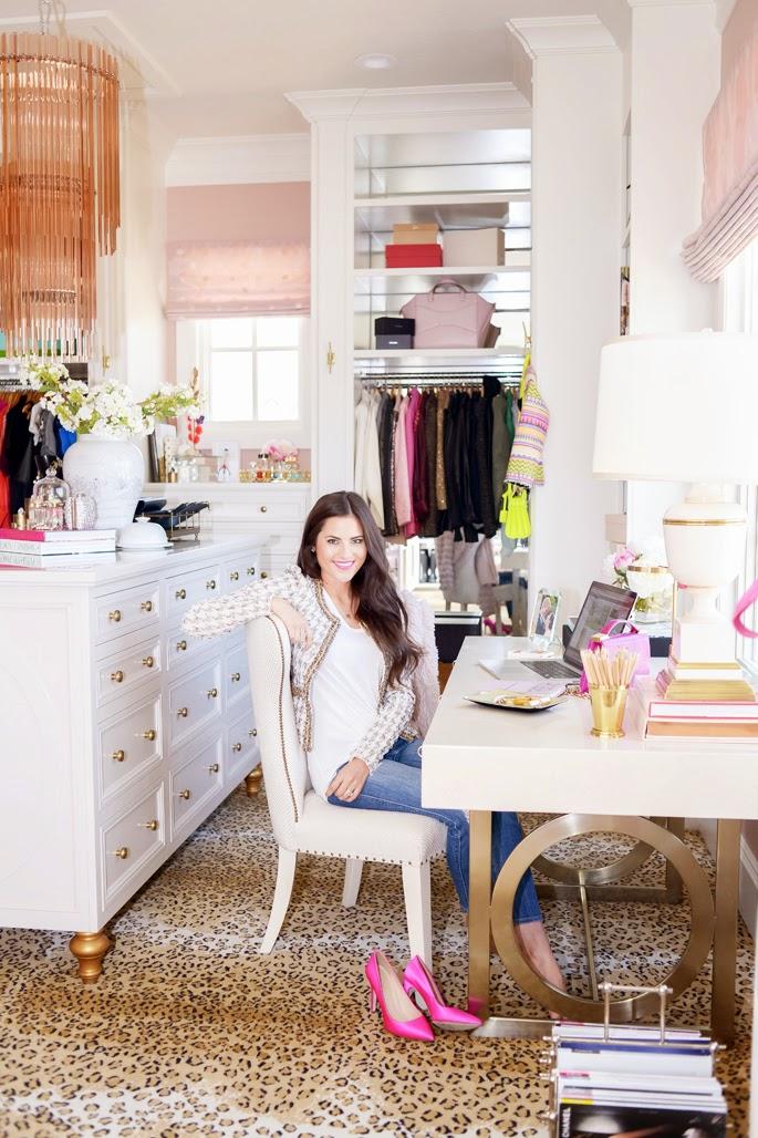 Phenomenal Blog Da Pripri O Closet Home Office De Rachel Parcell Largest Home Design Picture Inspirations Pitcheantrous