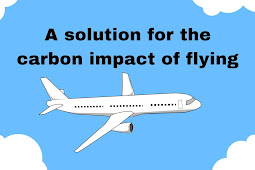 A solution for the carbon impact of flying