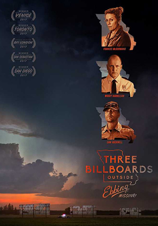 Three Billboards Outside Ebbing Missouri 2017 BRRip 720p Dual Audio In Hindi English ESub