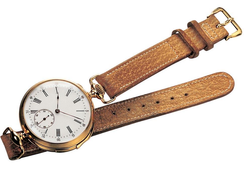 cc55a3bfaa7 Curiosidade  A História do Relógio de Pulso