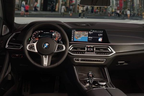 Interior BMW X6 2020