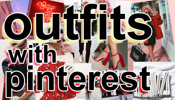 OUTFITS WITH PINTEREST! | ZARA, BERSHKA..