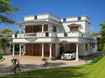 Evens Construction Pvt Ltd: New House Desings april 2011