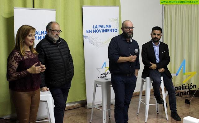 Domingo Isidro Hernández Guerra ha sido presentado como candidato a la Alcaldía de Puntallana por Coalición Canaria