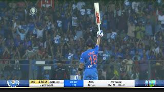 Virat Kohli 70* vs West Indies Highlights