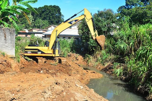 Jardim Osasco recebe obras do Programa de Contenção de Enchentes