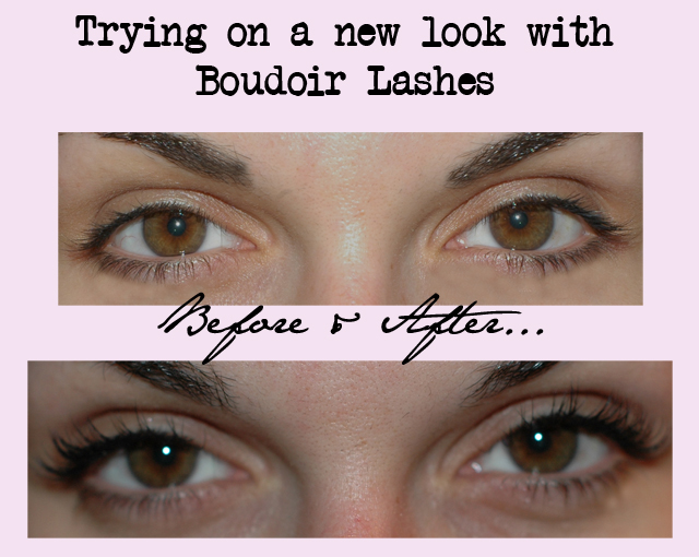 boudoir lashes, fake eyelashes
