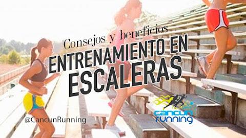 correr entrenamiento escaleras
