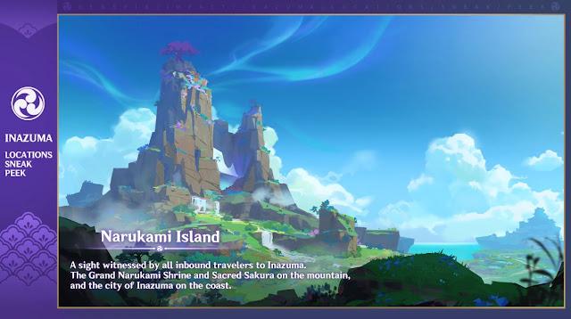 Narukami Island Inazuma