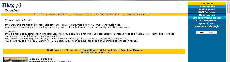 DIV X Crawler Download Full Length Movies Free