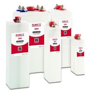 Saft Batteries SPH Ni-Cd battery Instant power