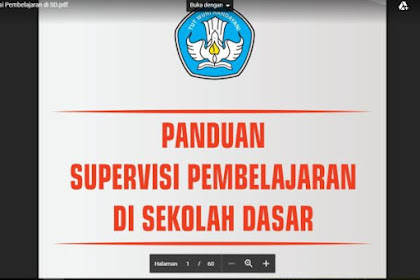 Panduan Supervisi Kepala Sekolah SD 2018