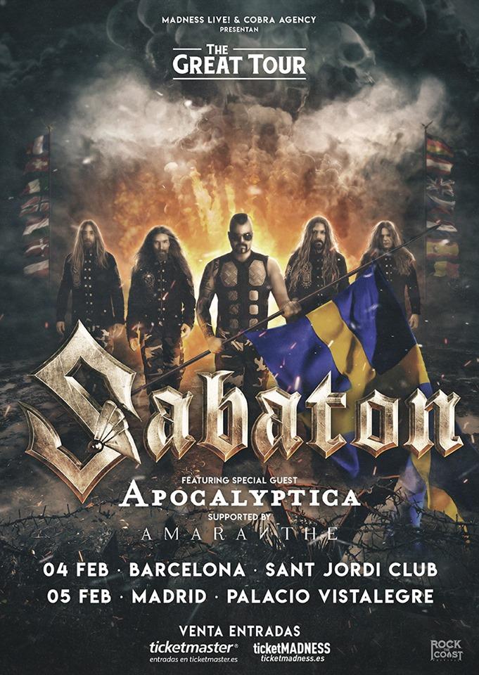 Sabaton Tour