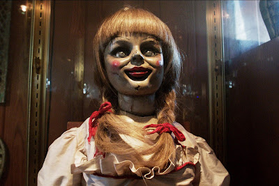 scary annabelle doll