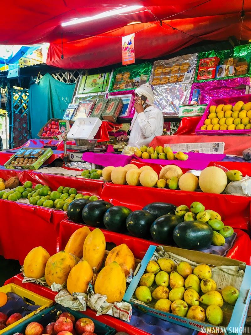 Lal Kothi Sabji Mandi, Jaipur. One of the biggest Vegetable Market of Jaipur.