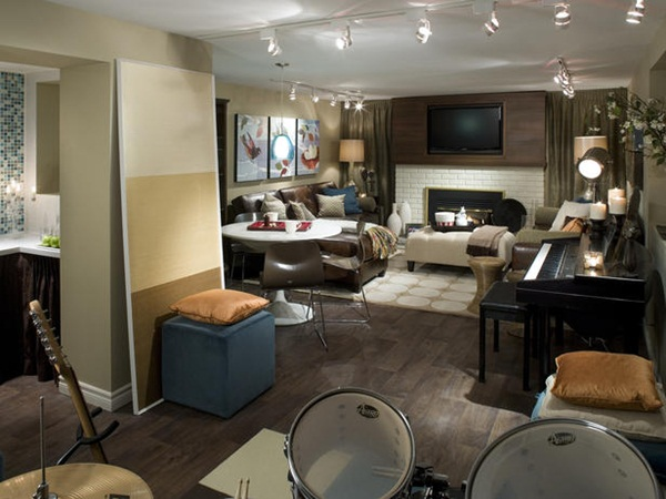 Candice Olson: Transform Your Basement Into an Living Room ...