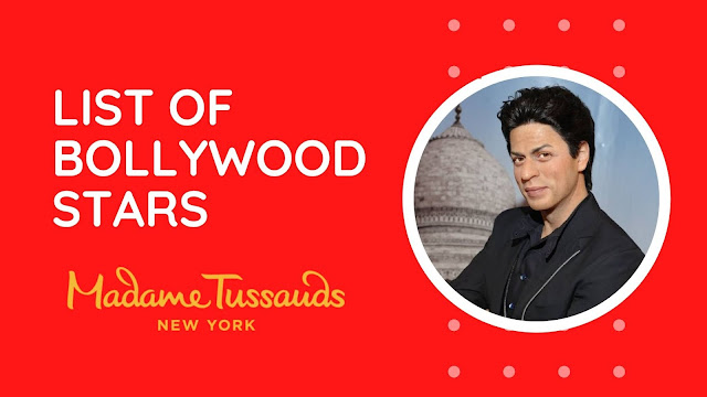 Bollywood Stars in Madame Tussauds New York