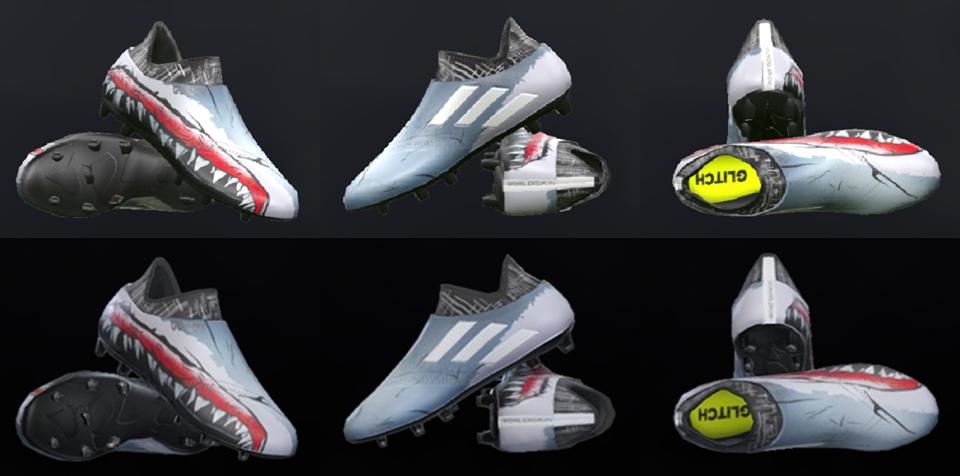 Adidas Soccer Glitch Shoes