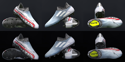 PES 2018 / PES 2017 Adidas Glitch Pack 2018 Skin 3 Shark by Tisera09