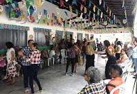 Grupo de idosos participa de festa junina promovida pela Prefeitura de Catingueira