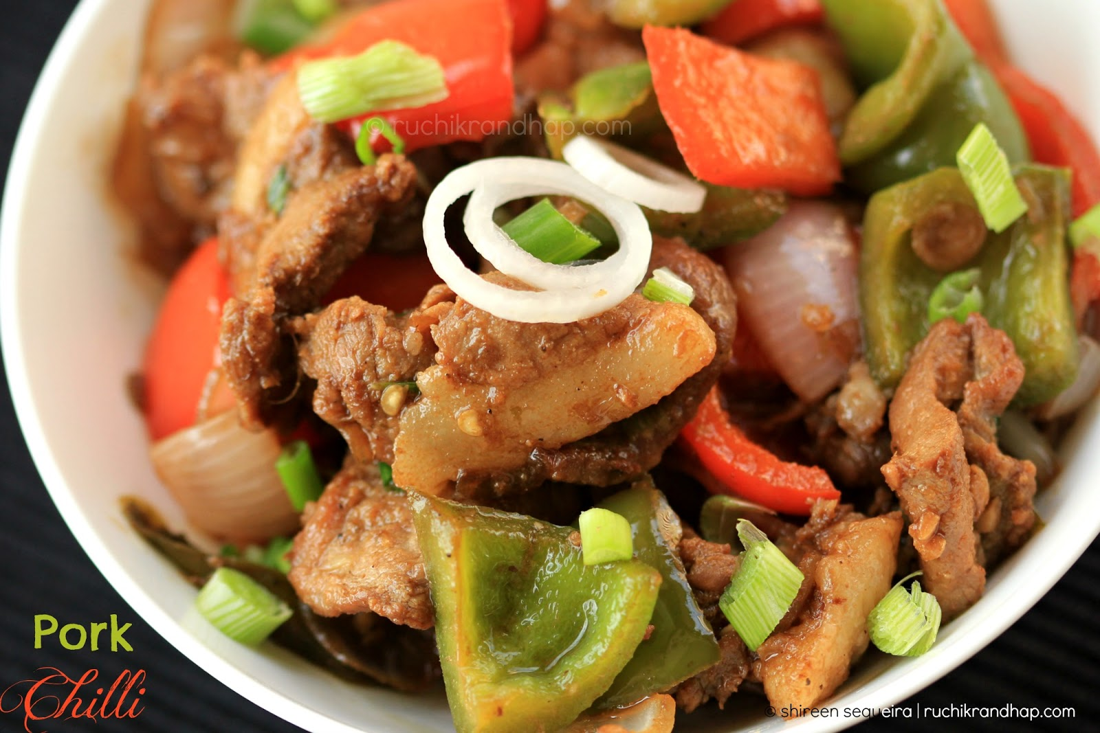 Pork Chilli Ruchik Randhap
