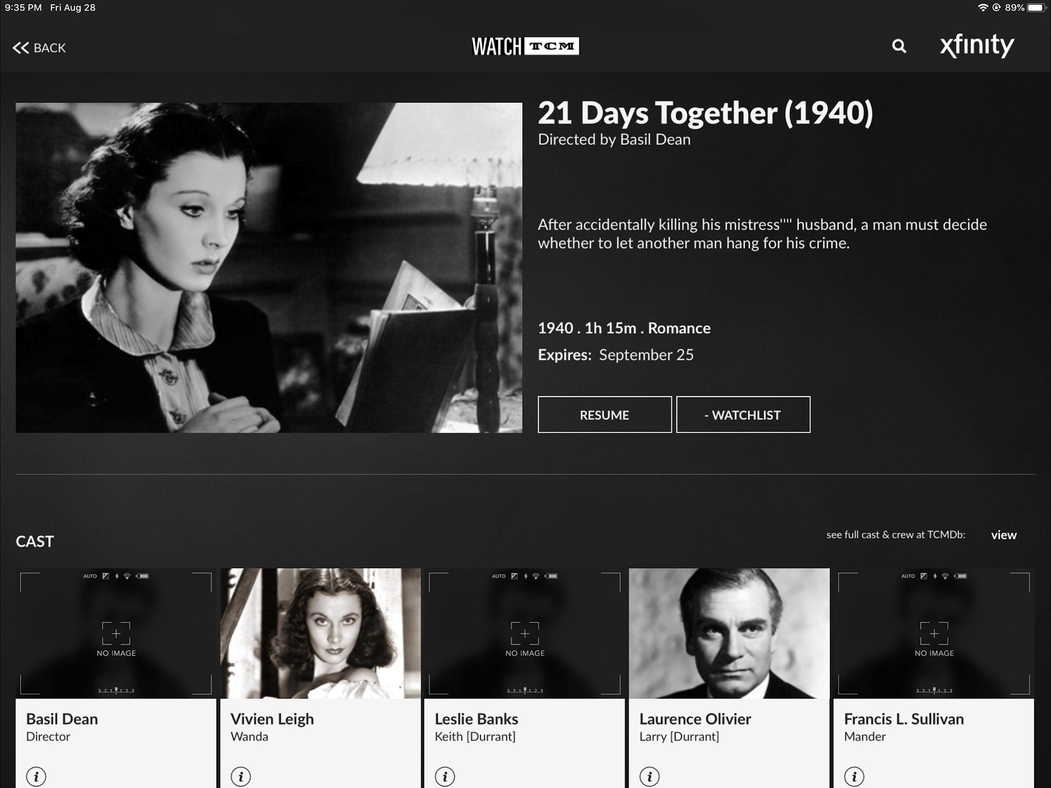 tcm, tcm film, tcm film review, film review, 21 days together