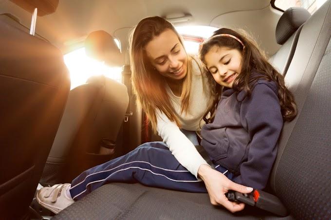 Tips sobre seguridad vial enfocada en niños.
