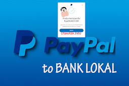 Cara Menarik Uang Dari PayPal Ke Rekening Bank Lokal di Android