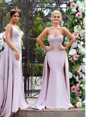 New Mermaid Bridesmaid Dresses