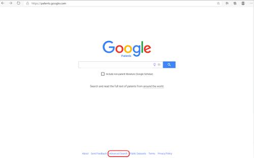 Google patents advanced search