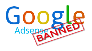 adsense banned