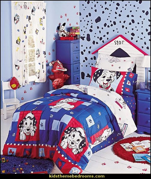 dalmatian themed bedroom decorating ideas=decorating dalmatian theme