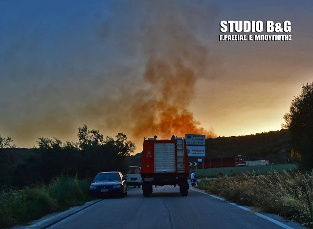 Υψηλός ο κινδυνος πυρκαγιάς σήμερα στην Αργολίδα παρά την συννεφιά
