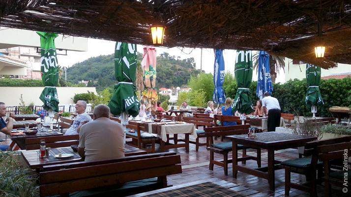 Ресторан «Sunce», Петровац