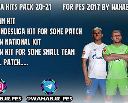 PES 2017 Mega Kitpack Season 2020/2021 V9 AIO