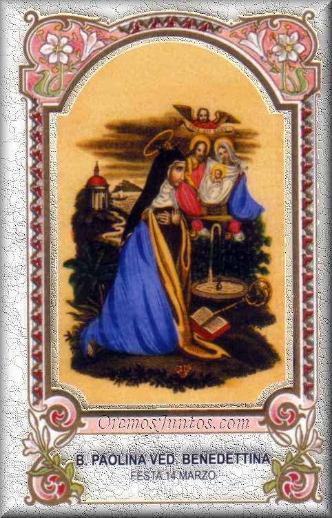 sveta Pavlina - redovnica