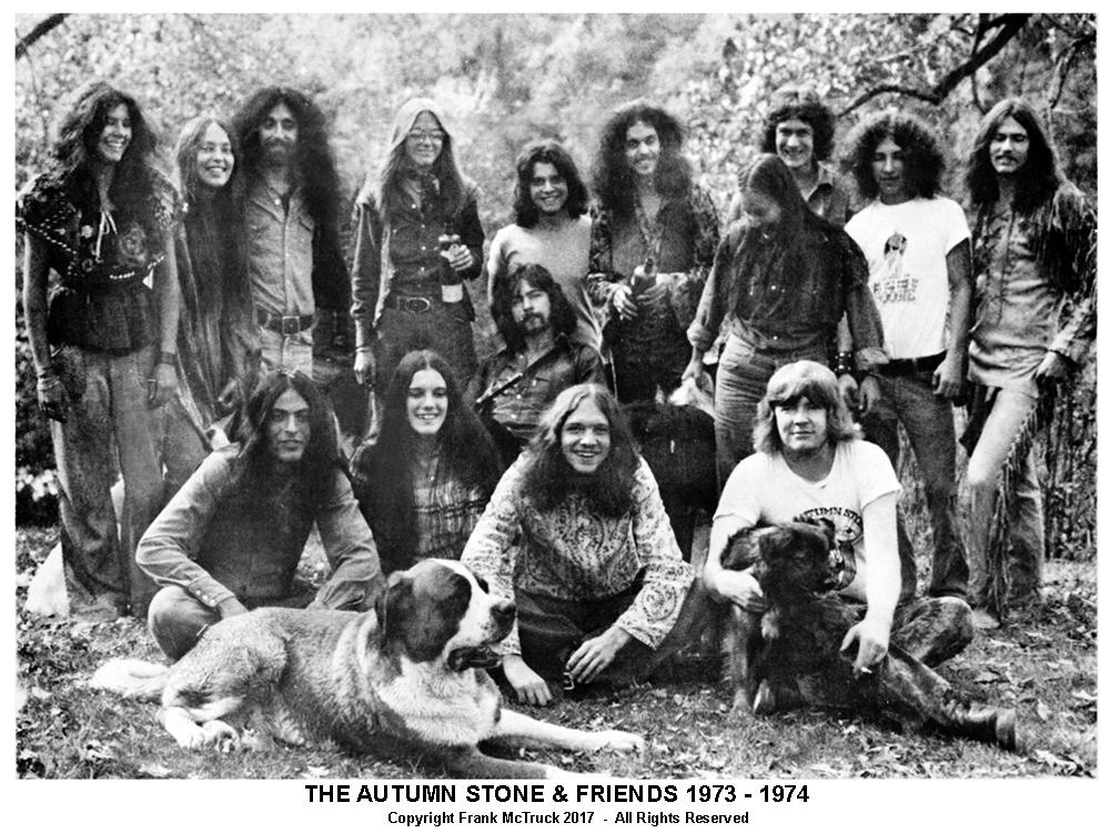 Winnipeg's first head shop, 'The Autumn Stone' Partners and friends Clendar Shoot 1973