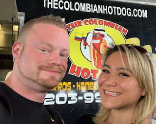 Miki Sudo clicking selfie with her boyfriend Nick Wehry