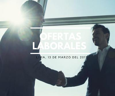 Trabajar en Lima, ofertas laborales Lima