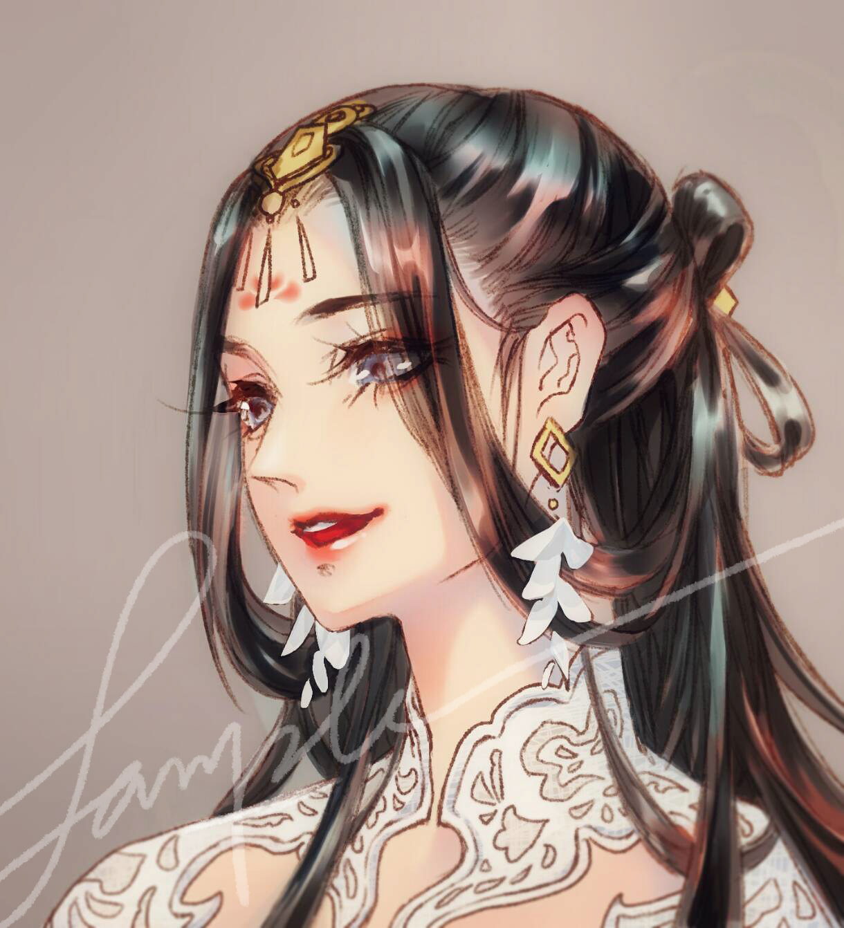 art work by 陌上寒如玉