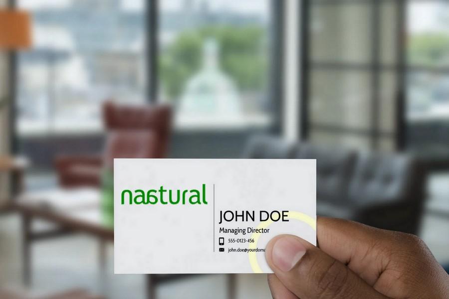 Naatural Mock Card