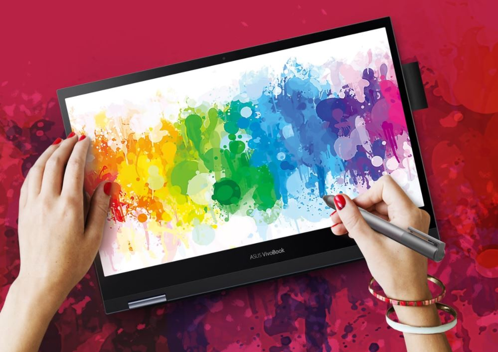 Asus VivoBook Flip 14 TM420IA EC751TS, Laptop Hybrid Powerful Bertenaga AMD Ryzen 7 4700U