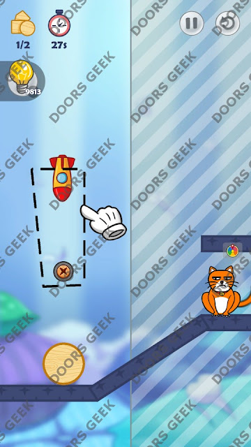 Hello Cats Level 119 Solution, Cheats, Walkthrough 3 Stars for Android and iOS