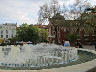 Plaza Nezavisimost Varna Bulgaria