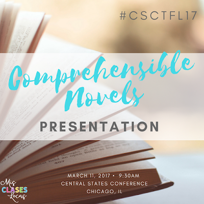 CSCTFL17 - Comprehensible Novels to Increase Proficiency