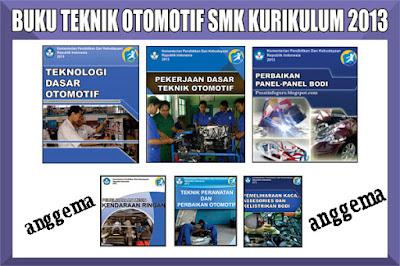 Download Gratis Buku teknik Otomotif SMK Kurikulum 2013 Lengkap Semua Kelas